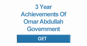 3 Year Achievements of Omar Abdullah